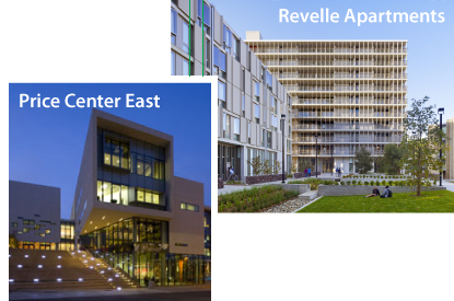 Price Center and Revelle Apartments