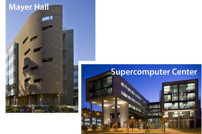 Mayer Hall and Supercomputer Center